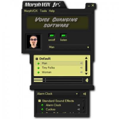 MorphVOX Junior 2.4.7 screenshot