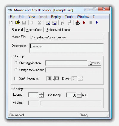 Mouse and Key Recorder 8.0 screenshot