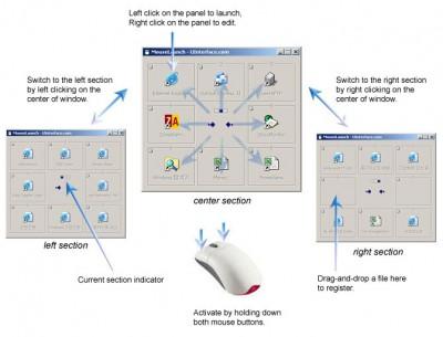 MouseLaunch 5.6.2 screenshot