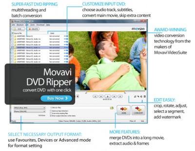 Movavi DVD Ripper 7.1.1 screenshot