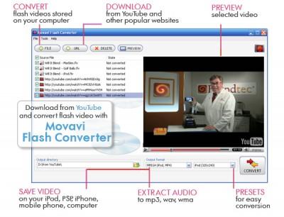 Movavi Flash Converter 2.14 screenshot