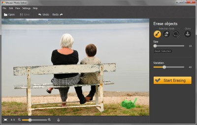 Movavi Photo Editor 2.1 screenshot