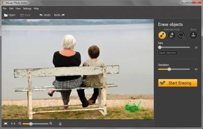 Movavi Photo Editor 2.1 screenshot