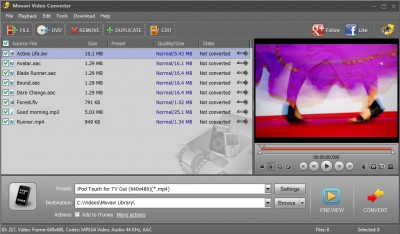 Movavi Video Converter 19.1.0 screenshot