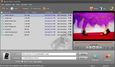 Movavi Video Converter 20.1.2 screenshot