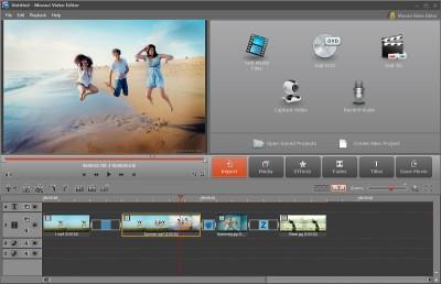 Movavi Video Editor 14.5.0 screenshot