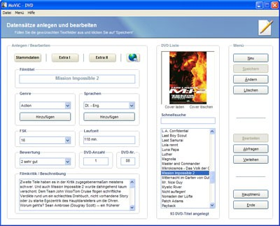 MoViC 2006 1.6.4.4. screenshot