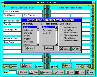 Movie Catalog 5.1 screenshot