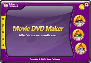 Movie DVD Maker 2.9.1222 screenshot