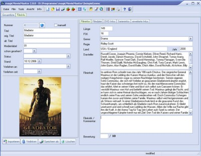 MovieMaster 1.4 screenshot