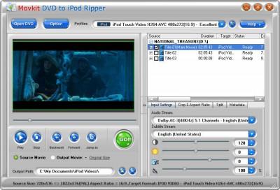 Movkit iPod Suite 4.6.5 screenshot