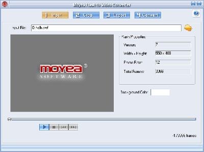Moyea Flash to Video Converter 11.0.34 screenshot
