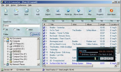 MP3 CD Converter 4.20 screenshot