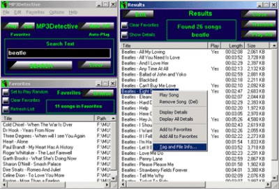 MP3Detective 5.7.0 screenshot