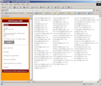 Mp3Extractor 2003.10 screenshot