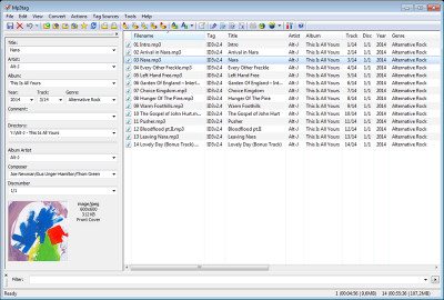 Mp3tag 2.89a screenshot