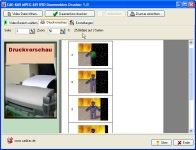 MPEG AVI DVD Daumenkino-Drucker 1.0 screenshot