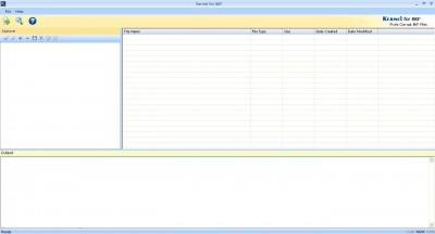 MS Backup BKF Recovery 15.10 screenshot