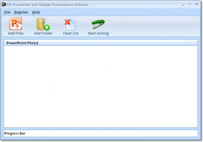 MS PowerPoint Join Multiple Presentations Software 7.0 screenshot