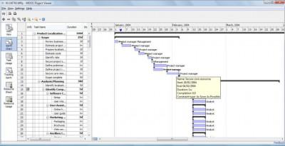 MS Project Viewer 3.1.5 screenshot