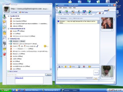 MSN Messenger 8 0 0328 review