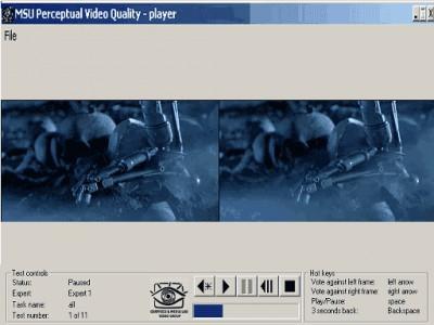 MSU Perceptual Video Quality Tool 1.0 screenshot