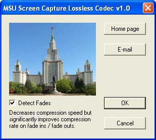 MSU Screen Capture Lossless Codec 1.2 screenshot