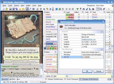 MTG Studio 3.107 screenshot