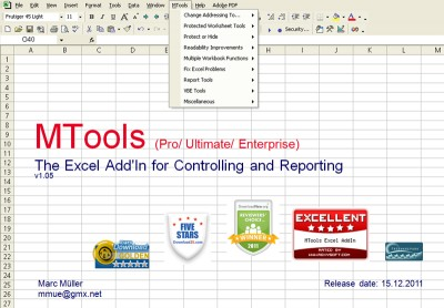 MTools Ultimate Excel Tool 1.095 screenshot