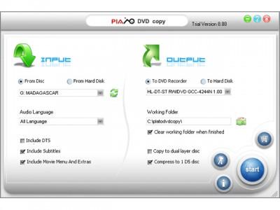 Multi-language Plato DVD Copy 12.11.01 screenshot