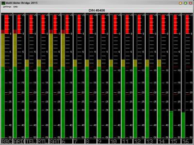 Multi Level Meter Bridge 2020 screenshot