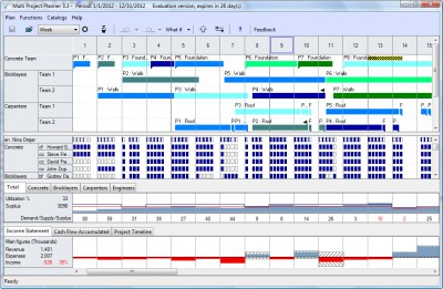 Multi Project Planner 3.3 screenshot