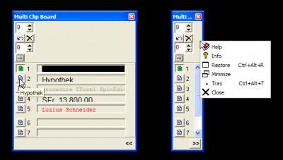 MultiClipBoard 4.0.0 screenshot