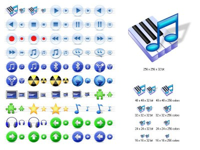 Multimedia Icons for Vista 2013.1 screenshot
