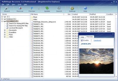 MultiStage Recovery 3.6 screenshot