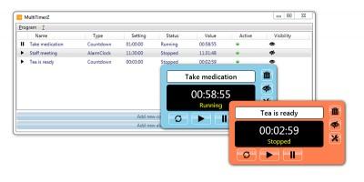MultiTimerZ 1.1.0.0 screenshot