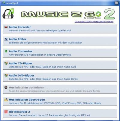 music 2 go 2.6.5.2 screenshot
