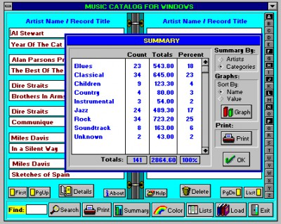 Music Catalog 5.1 screenshot