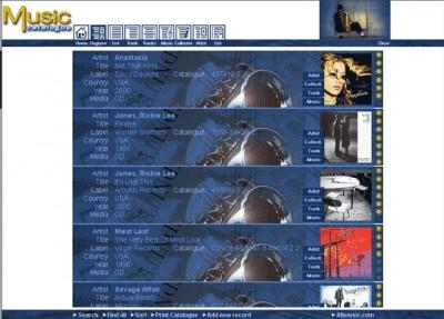 Music Catalogue 4.5 screenshot