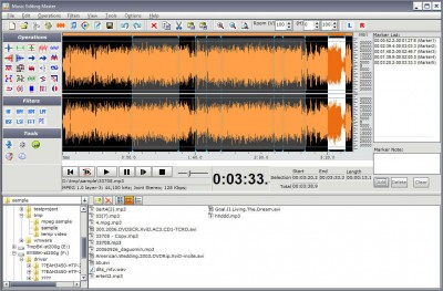 Music Editing Master 11.6.3 screenshot