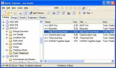 Music Express 4.26 screenshot