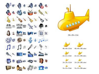 Music Icon Library 2.11 screenshot