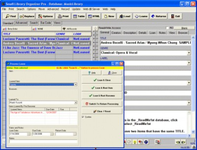 Music Library Organizer Pro 3.2b screenshot
