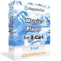 Music Player for X-Cart - X-Cart Mod 2.0 screenshot