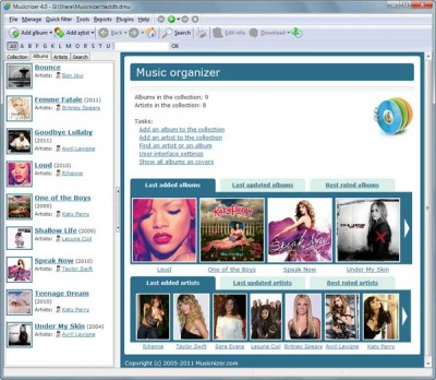 Musicnizer 10.0 screenshot
