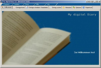My digital Diary Professional Edition 3.2 screenshot