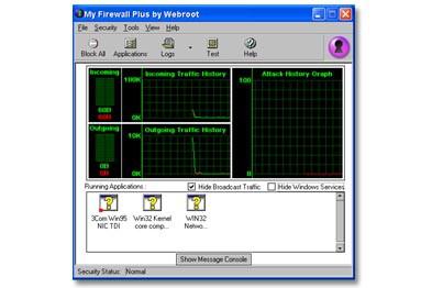 My Firewall Plus 5.0 screenshot
