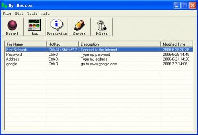 My Macros 4.0 screenshot