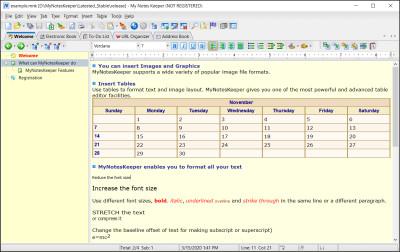 My Notes Keeper 3.6 screenshot