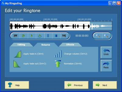 My Ringading 1.0 screenshot